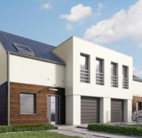 Projekt domu jednorodzinnego w zabudowie bliźniaczej